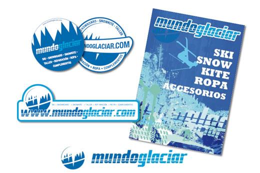 Mundo Glaciar @ imagen corporativa