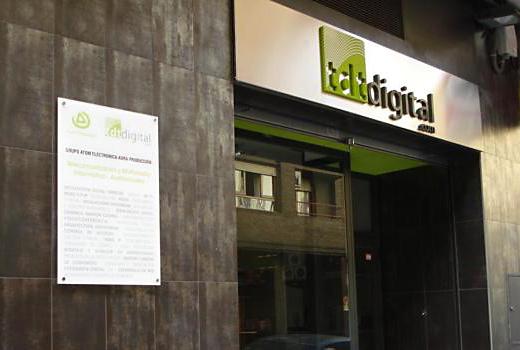 TDT digital @ rotulación