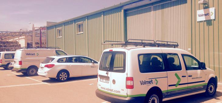 Valmet Technologies @ rotulación de vehículos