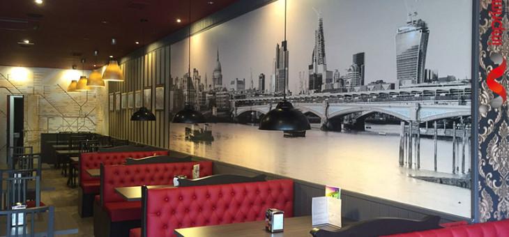 Londres Café @ Rotulación y logotipo